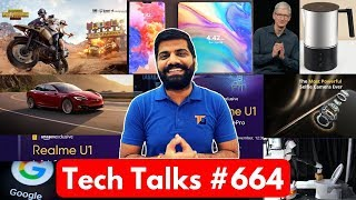 Tech Talks #664 - Realme U1, Zenfone Max Pro M2, PUBG Season 4, Nokia 9 Case, Folding Phone