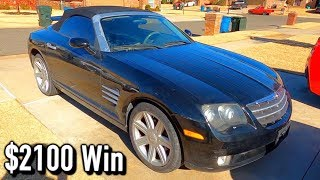cheap-copart-05-chrysler-crossfire-roadster-update