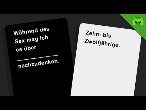 JAPANISCHE FIXIERUNG 🎮 Cards Against Humanity