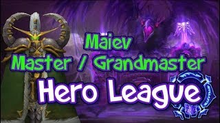 How to play Hero League #7 - Maiev - Grandmaster/master - Heroes of the Storm