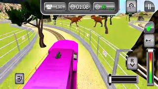 train simulator 2021 gameplay #5-Car games Android IOS gameplay ጌም ጨዋታ screenshot 5