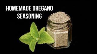 Homemade Oregano Seasoning  கறபரவளள தளச பட சயவத எபபட?  Pasta Pizza Oregano Seasoning