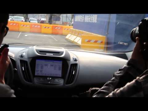 Ford vehicle to vehicle communication demonstration at Computex 2014
