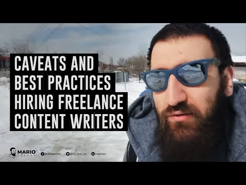 Caveats And Best Practices Hiring Freelance Content Writers