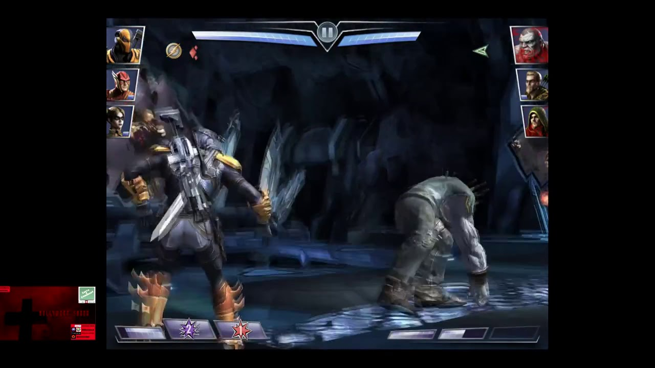 injustice gods among us ios red son deathstroke challenge