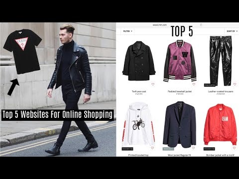 TOP 5 WEBSITES TO SHOP ONLINE FOR MENS STREETWEAR – Fashion 2017