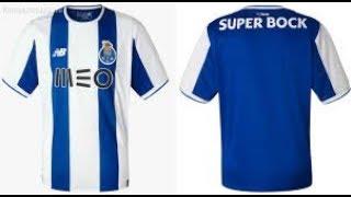 Edmondsoccershop.com 17-18 |FC Porto home jersey Unboxing Review