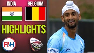 India v Belgium | 2018 Men's Hockey Champions Trophy | HIGHLIGHTS