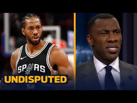 Shannon Sharpe on Kawhi Leonard not returning to Spurs after being medically cleared | UNDISPUTED