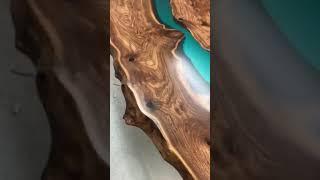 Стол река из слэбов капового Ильма