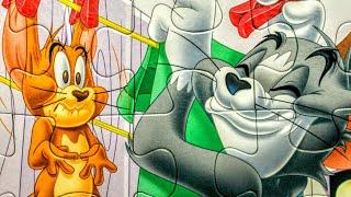 Том и Джерри - Собираем пазлы для детей | Puzzle Time