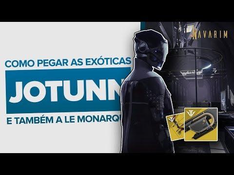 Destiny 2: Como pegar a Jotunn (e a Le Monarque) armas exóticas da Arsenal Negro thumbnail