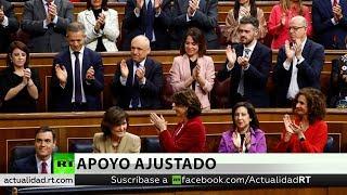 Pedro Sánchez se somete a la votación definitiva para su investidura como presidente