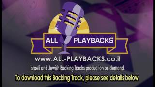 Karaoke  Jewish   Songs |    Toda   |   Ishay  Levi    |   Backing   Track