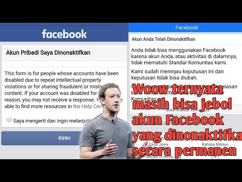 cara mengatasi akun facebook terkunci untuk sementara Assalamualaikum warahmatullahi wabarakatuh. Di.
