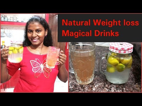 How to Loss Weight/No Diet&No Exercise,Drink this Magical Drinks to Loss Weight/100% Natural Remedy