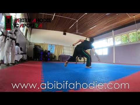 United Federation of Martial Arts - Abibifahodie Asako (Afrikan Combat Capoeira) Demonstration
