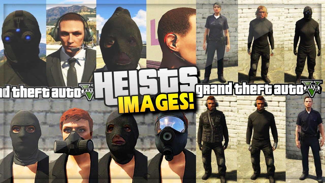 GTA 5 Heist Online Update! NEW Heist Clothes/Outfits Leaked (GTA 5 Online Gameplay) - YouTube