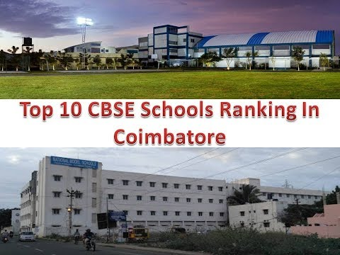 Top 10 CBSE Schools Ranking In Coimbatore
