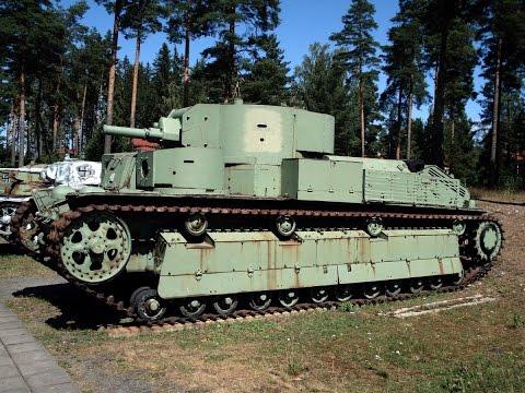 Многобашенные танки: Т-28 и Т-35