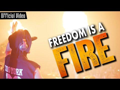 Смотреть клип Zatox Feat. Skits Vicious - Freedom Is A Fire