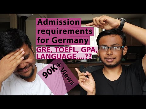 Admission Requirements For Masters In Germany 🇩🇪 (RWTH Aachen) - GRE, TOEFL, CGPA? Ft. Indian 🇮🇳