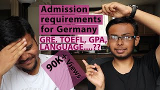 Admission requirements for Masters in Germany 🇩🇪 (RWTH Aachen) - GRE, TOEFL, GPA? ft. Indian 🇮🇳