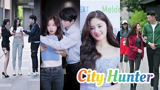 Couple fashion on the Street | Chinese tiktok Hindi | New Hindi Korean tiktok videos | City Hunter