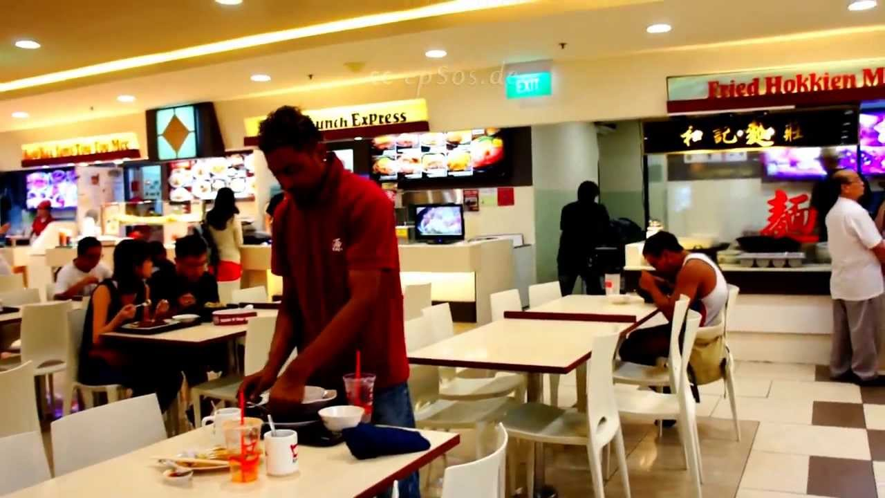 South asian food court in westmall of singapore youtube for Asian cuisine singapore