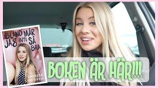 vlogg: BOKEN ÄR ÄNTLIGEN HÄR!!!!