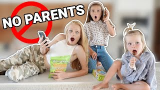 HOME ALONE WITHOUT OUR PARENTS **NO RULES** | Family Fizz