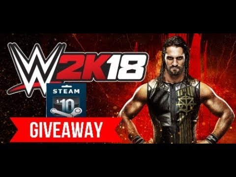 WWE 2k18 Viewers choice(type !giveaway)