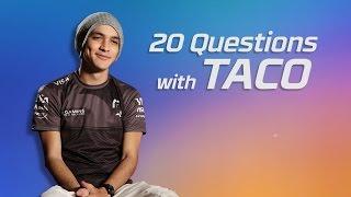 SK Gaming Taco 20 Questions