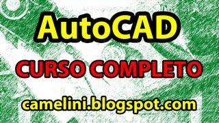 AutoCAD Básico - 101 - REVISÃO DO CURSO DE AUTOCAD BÁSICO thumbnail