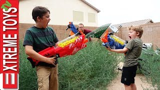 The Chore Nerf Battle Nerf Blasters Yardwork Mess
