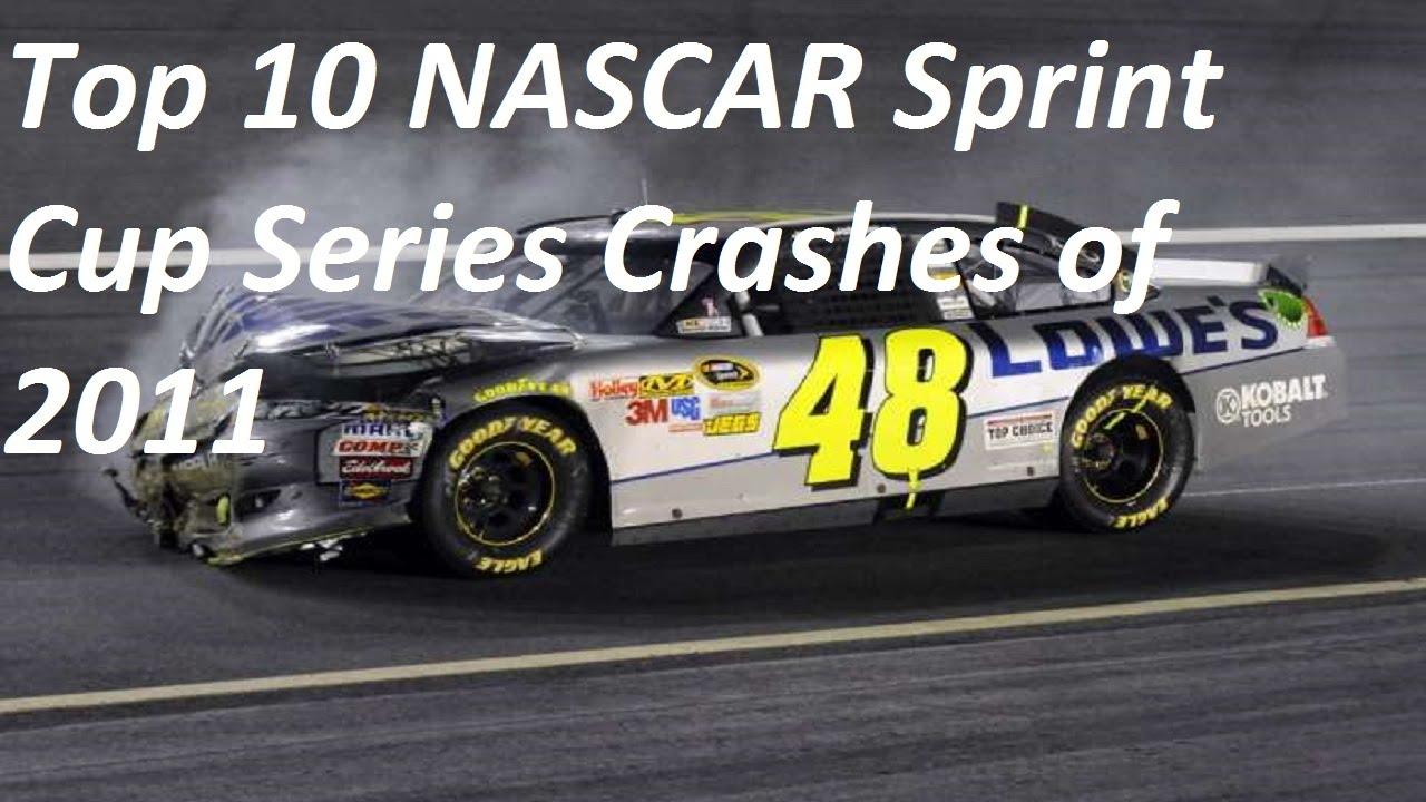 Top 10 NASCAR Sprint Cup Series Crashes of 2011 - YouTube