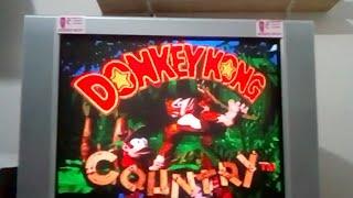 Donkey Kong Snes Jogando Pela Primeira Vez !