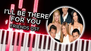I'll Be There for You (Friends OST) – Piano tutorial