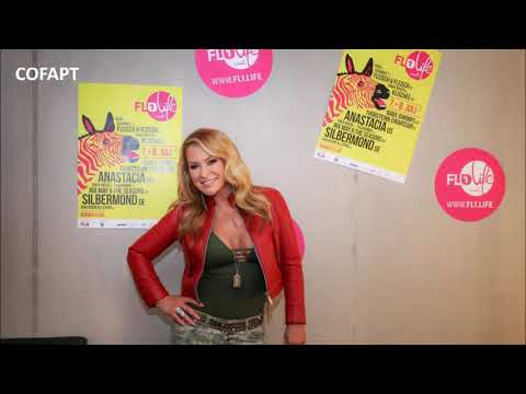 Anastacia - Interview for Radio Liechtenstein in Schaan, Lie