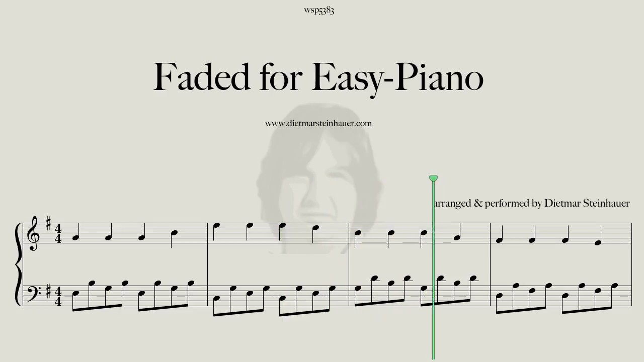 Faded - Easy-Piano Version