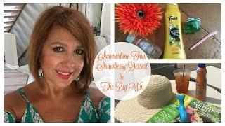 Summertime Fun, Strawberry Dessert & The BIG Win | Karen's Vlog