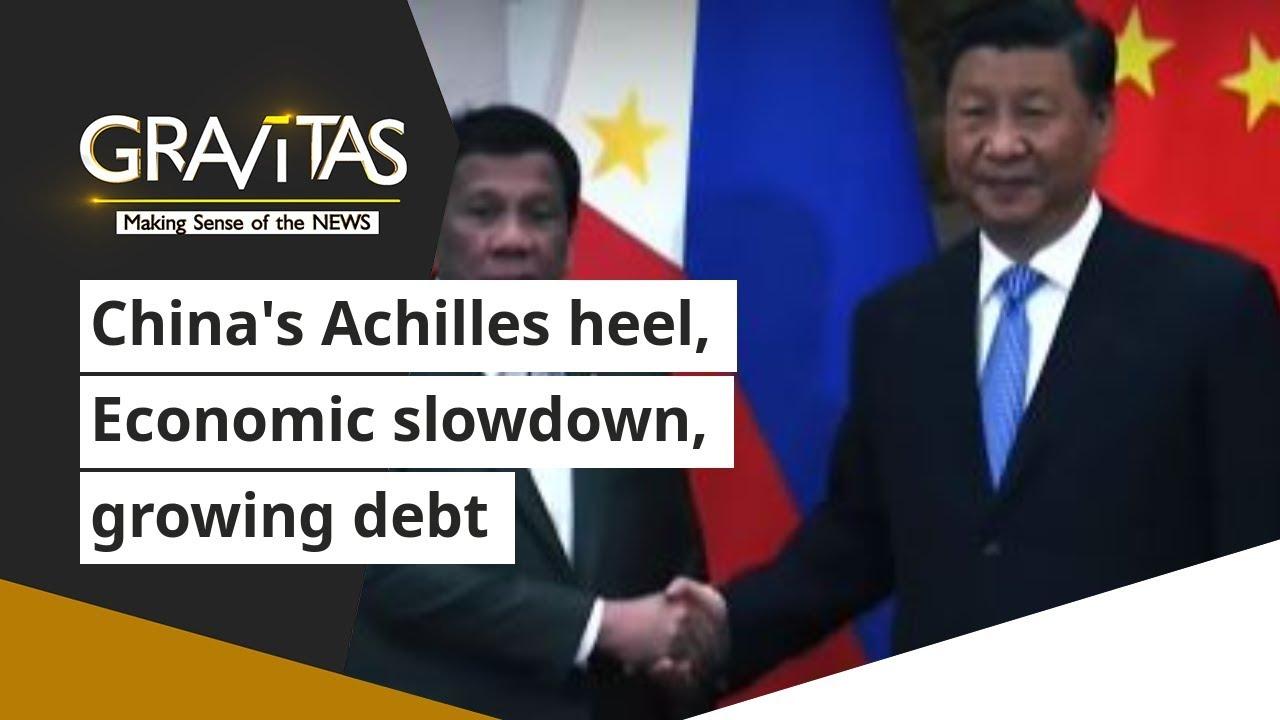 Download Gravitas: China's Achilles heel, Economic slowdown, growing debt