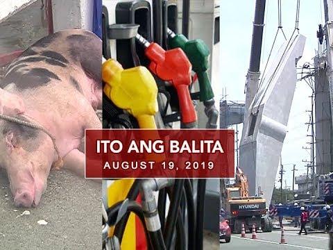 UNTV: Ito Ang Balita (August 19, 2019)