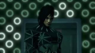 This is the second boss in the game Fighting her on Give me Deus Ex Difficulty which is the highest difficulty in the game Used combat assault rifle would