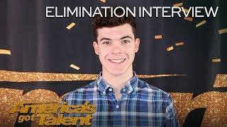 Elimination Interview: Joseph O'Brien Sends Love To His Fans - America's Got Talent 2018
