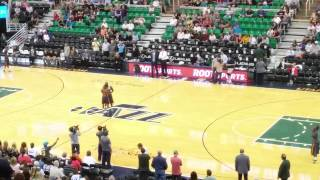 Beale street flippers @ the Jazz game