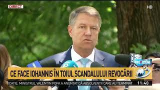 Prima reacţie a lui Klaus Iohannis legată de motivarea Curtii Constituţionale