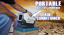 A Portable battery powered Air Conditioner? Amazing!