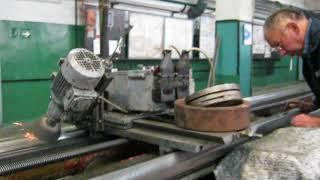 Шлифовка станин токарных станков