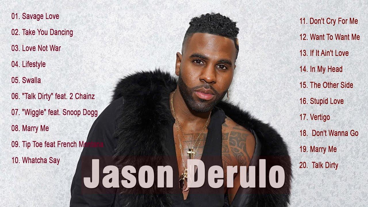 Download J A S O N D E R U L O Greatest Hits - Best Songs Playlist 2021